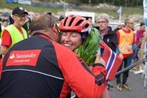 Justyna Kowalczyk wygrała na nartorolkach Olaf Skoglunds Minneløp