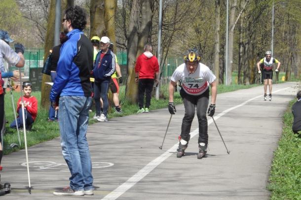 Ustrońskie sprinty klasykiem na nartorolkach 29 kwietnia
