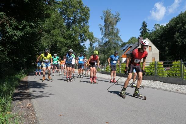 Za nami II tura cyklu Vexa Skiroll Tour z biegami Kamyk Uphill i Leśny Uphill