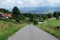 Pełna uroku trasa na nartorolki ze Smreczyny do Kašparovej chaty / Kamyk Uphill