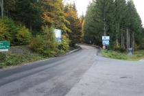 Wymienili najgorszy odcinek asfaltu na trasie Uphillu Duszniki-Zdrój - Zieleniec