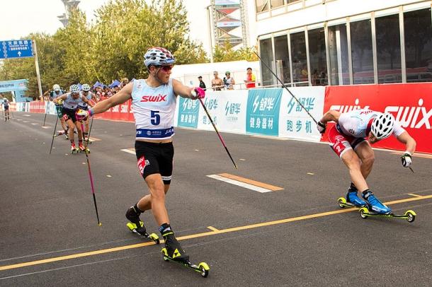 Klaebo i Sömskar liderami Pucharu Świata FIS na nartorolkach po sesji w Chinach