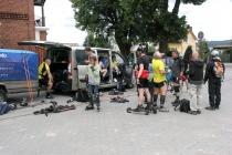 W czasie SnaK 2014 uczestnikom towarzyszyła obstawa na rowerach i w samochodach. W 2015 roku ma być podobnie.