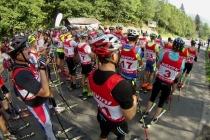 Kto szybszy na grzbiet Karkonoszy, czyli relacja z ćwierćmaratonu na nartorolkach