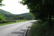 Pieszyce Górne - Przełęcz Jugowska - jeden z najlepszych nartorolkowych podbiegów