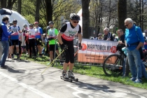 Sprinty na nartorolkach w Ustroniu 16 kwietnia rozpoczęły sezon startowy