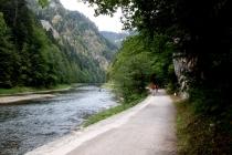 Na rolkach terenowych ze Szczawnicy do Czerwonego Klasztoru na Słowacji