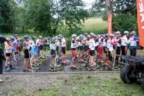 Uphill na nartorolkach w Dusznikach-Zdroju - rekord frekwencji pobity
