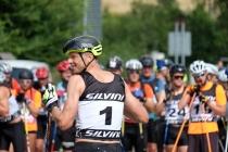 Stanislav Řezáč na starcie jednego z biegów cyklu Efisan Skiroll Classics