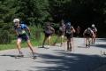 Na trasie biegu Asfalt Uphill w 2018 roku