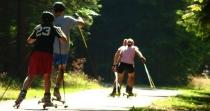 Na Jamrozowej Polanie trenują całe rodziny