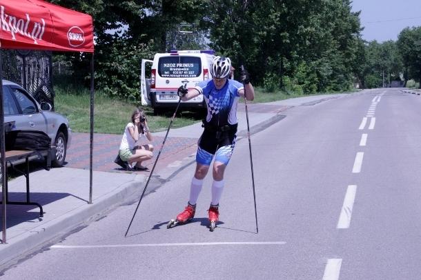 Jurajska Liga Wrotkarska 2012 - na nartorolkach w Koziegłowach