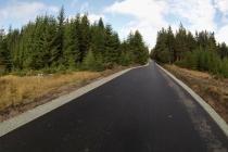 """Zdjęcie z trasy, na której odbędzie się """"Klasyk w Lasówce"""""""