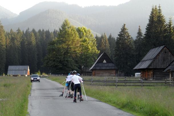 Miłośnicy biegówek szkolili się na Skike podczas obozów w Tatrach