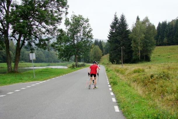 Trasy w okolicach Lasówki - eldorado dla sportów rolkowych