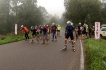Polacy pomogli zbudować frekwencję w wyścigu na nartorolkach w czeskich Górach Orlickich