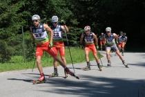 Biathloniści zdominowali czołowe pozycje w Asfalt Uphill 2018