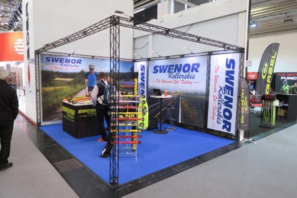 Stoisko Swenor na targach ISPO 2018
