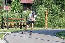 Kurs techniki łyżwowej na nartorolkach - podstawy i łyżwowanie