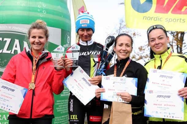 Najlepsze kobiety w cyklu w konkurencji techniką dowolną