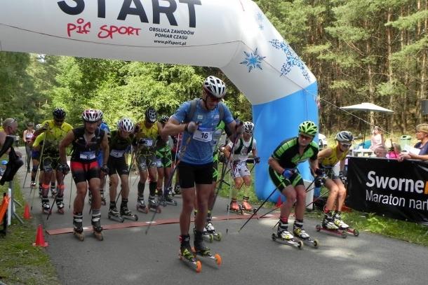 Maraton nartorolkowy i bieg łączony to konkurencje SworneRACE 2019