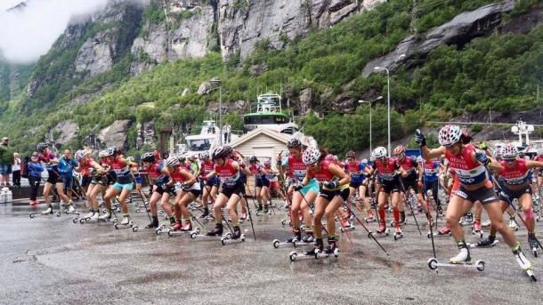 Start kobiet do Lysebotn Opp 2017