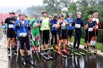 W 2017 roku podczas Kamyk Uphill padał deszcz, mimo to w biegu wzięło udział 60 zawodników