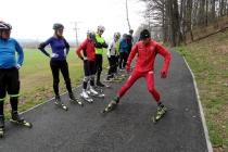 Entuzjaści nartorolek spotkali się na weekendowym kursie