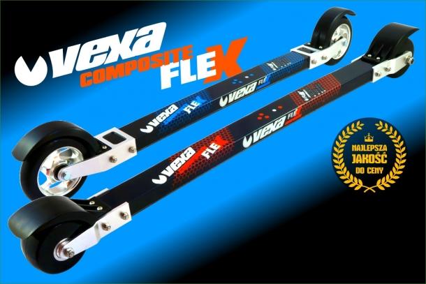 Kompozytowe nartorolki Vexa dostępne na polskim rynku
