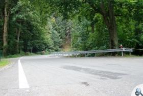 Droga od Dusznik Zdroju do Zieleńca pnie się w górę