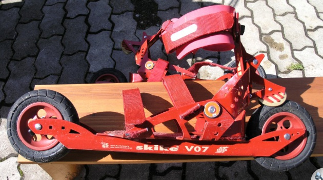 Skike V07 - widok z boku