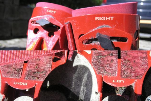 Oznaczenia stron na rolkach Skike V07