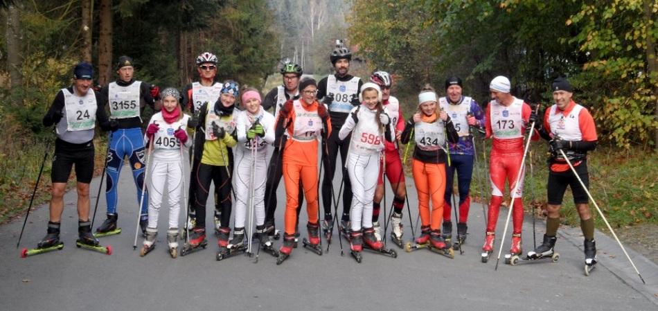 Uczestnicy Przehyba Uphill 2014