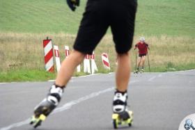 Drogi w okolicach Lasówki są chętnie wykorzystywane przez sportowców różnych dyscyplin