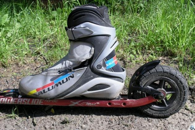 Powerslide X-Trail 150 - miejsce na buta