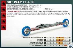 Ski Way Flash test