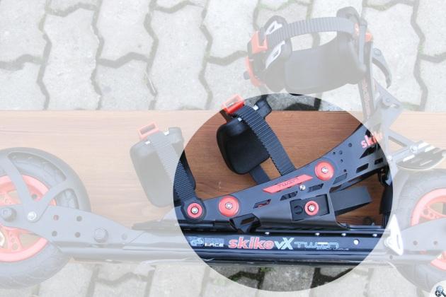 Skike VX Twin - teraz pięta może się poruszać.