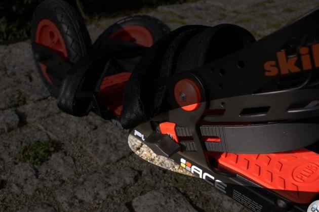 Nowy ogranicznik pięty w Skike V07 Plus dobrze spełnia swoje zadanie.