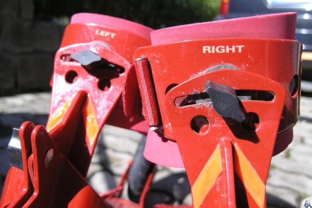 Skike V07 można wyregulować do krzywizny nóg.