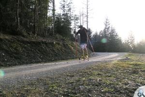 Powerslide X-Trail 150 - skoki