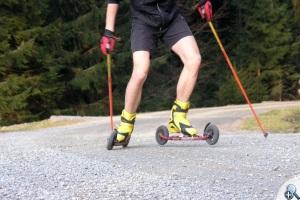Powerslide X-Trail 150 - jazda po szutrze