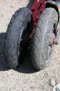Powerslide X-Trail 150 - opony
