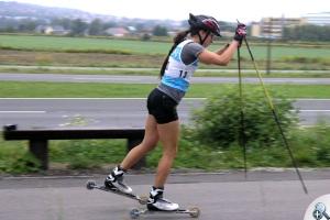 Emilia Romanowicz na Ski Way