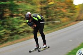 Na nartorolkach można osiągać wysokie prędkości